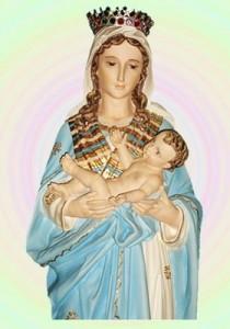 Santa protetora das grávidas