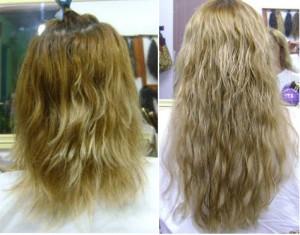 É importante que além de lavar os cabelos com cuidados,  tem que ser bem secado para que a rede não fique úmida e ocorra o risco de estragar o cabelo.
