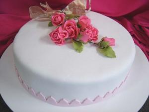 flores comestíveis para bolo