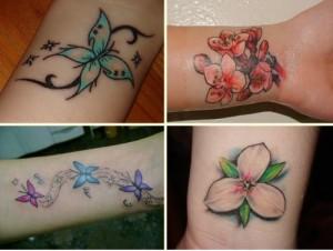 Tatuagem no pulso feminina