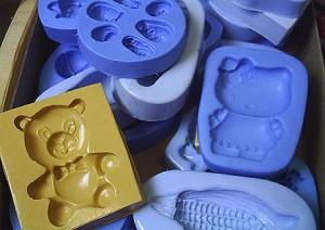 Sabonetes para bebês.