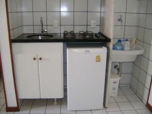 Mine cozinha compactada.