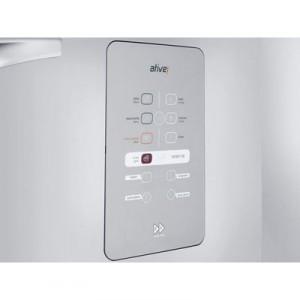 Mesmo expressamente moderno, esse refrigerador é muito sustentável, pois, conta com iluminação LED e energia é caracterizado por ser inteiramente econômico.