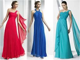 Vestidos com cores intensas