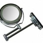 Espelho de aumento para maquiagem com luz