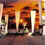 Decoração romântica para festa